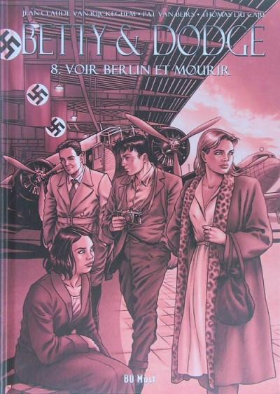 Couverture Betty & Dodge - tirage de luxe tome 8 - Voir Berlin et mourir