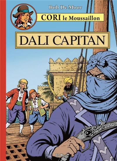 Couverture Cori le Moussaillon tome 5 - Dali capitan