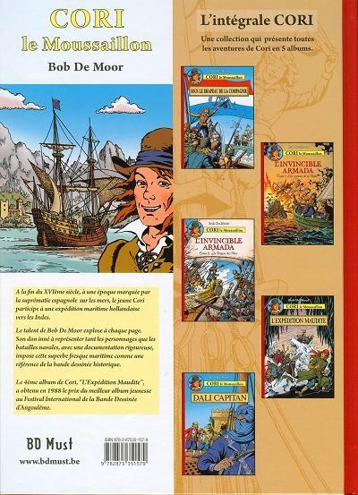 Dos Cori le Moussaillon tome 5 - Dali capitan
