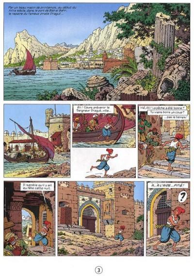 Page 1 Cori le Moussaillon tome 5 - Dali capitan