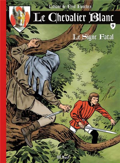 Couverture Le Chevalier Blanc tome 9