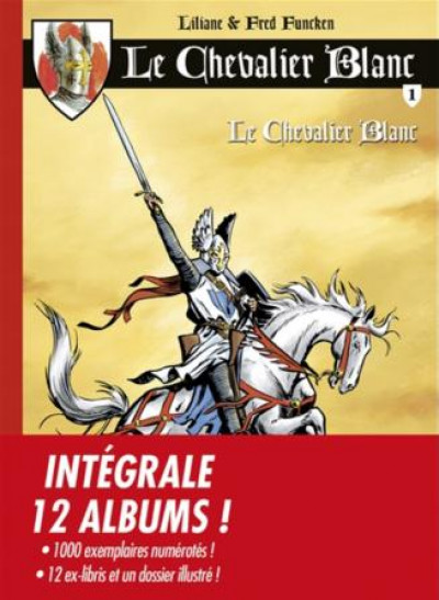 Couverture Le Chevalier Blanc - intégrale tomes 1 à 12