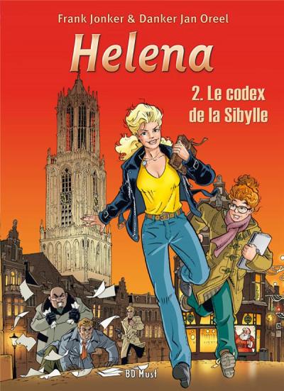 Couverture Helena T.2 - le codex de la Sibylle