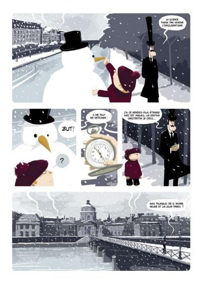 Page 3 les promeneurs du temps tome 1 - l'équation interdite
