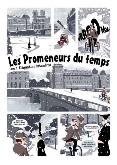 Page 4 les promeneurs du temps tome 1 - l'équation interdite