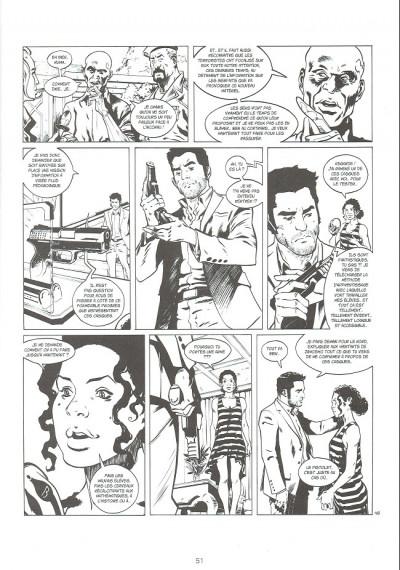Page 1 Bob Morane - Renaissance - tirage de tête tome 1
