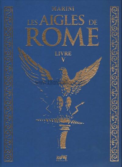 Couverture Les aigles de Rome - tirage de tête tome 5