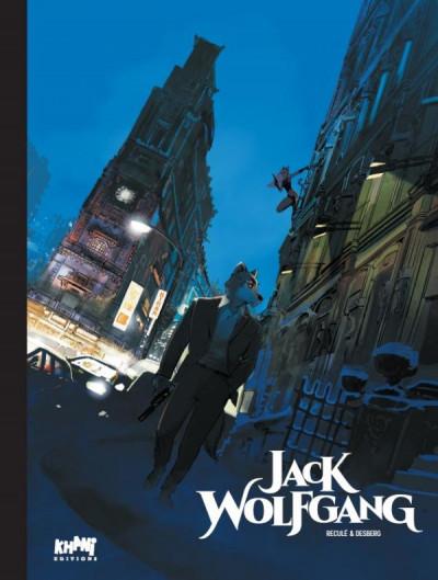 Couverture Jack Wolfgang - tirage de tête tome 1