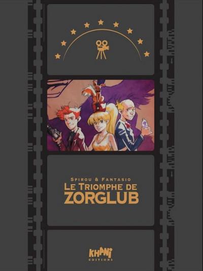 Couverture Le triomphe de Zorglub - tirage de tête