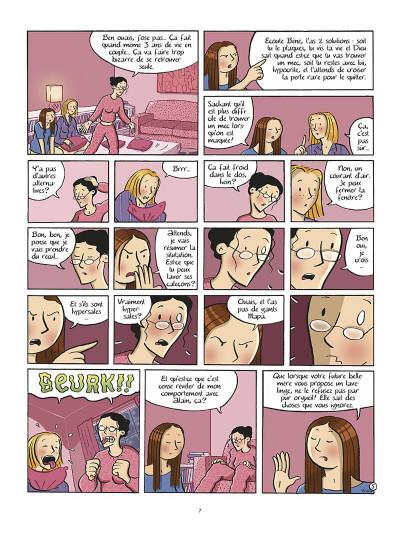 Page 8 les filles tome 1 - pyjama party