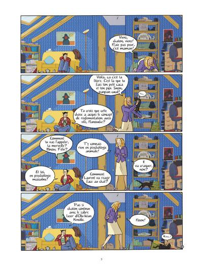 Page 4 les filles tome 3 - action ou vérité