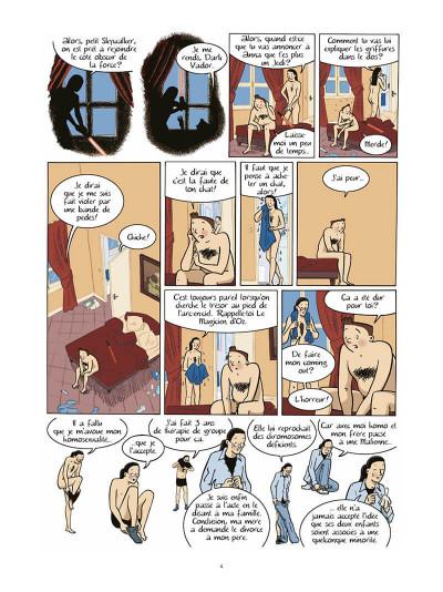 Page 5 les filles tome 3 - action ou vérité