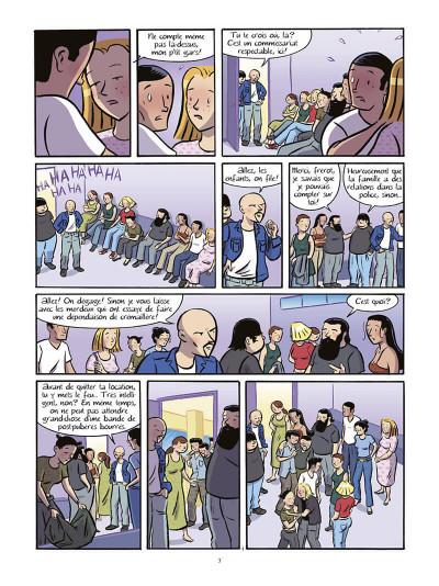 Page 4 Les filles tome 6 - bain de minuit