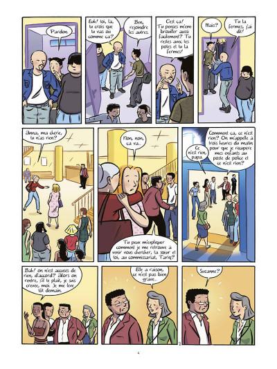 Page 5 Les filles tome 6 - bain de minuit