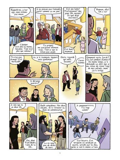 Page 6 Les filles tome 6 - bain de minuit