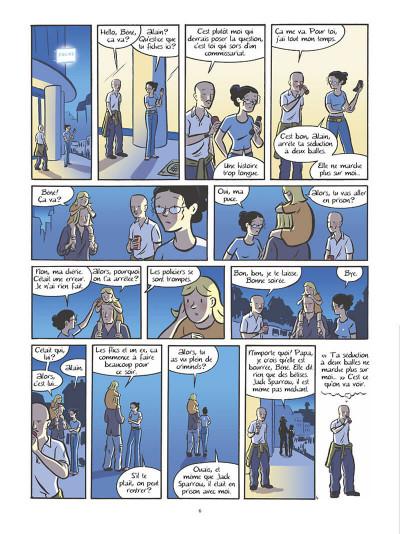 Page 7 Les filles tome 6 - bain de minuit