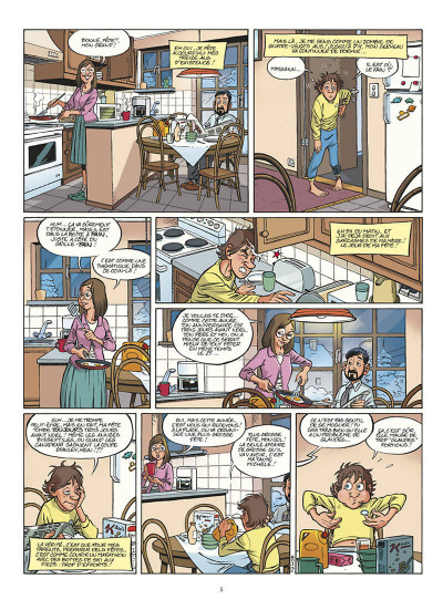 Page 6 l'incroyable histoire de Benoît Olivier tome 1 - Waf le chien