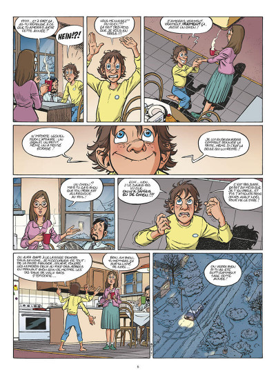 Page 7 l'incroyable histoire de Benoît Olivier tome 1 - Waf le chien