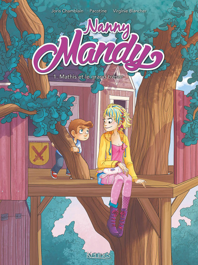 Couverture Nanny Mandy tome 1