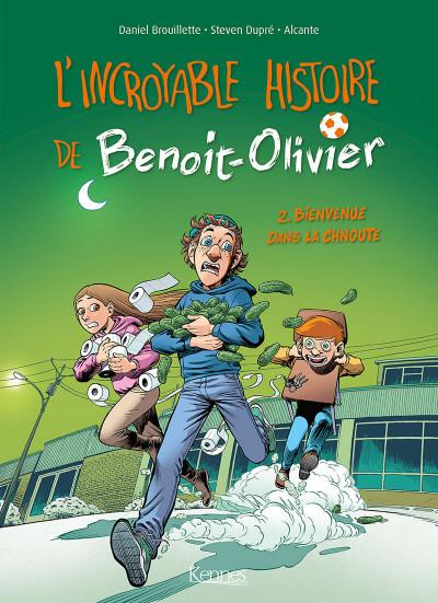 image de L'incroyable histoire de Benoît Olivier tome 2 - bienvenue dans la chnoute