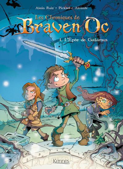 image de Braven Oc tome 1 - l'épée de Galamus