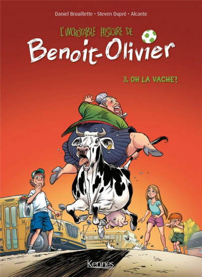 Couverture L'incroyable histoire de Benoît Olivier tome 3