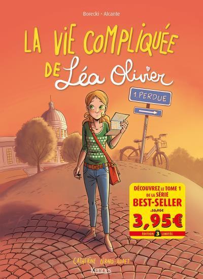 Couverture La vie compliquée de Léa Olivier tome 1 - Offre découverte