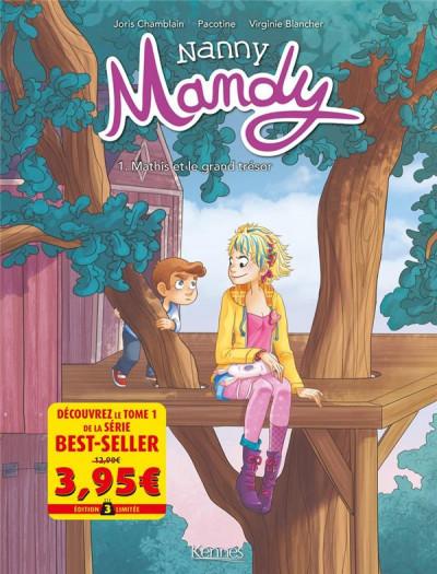 Couverture Nanny Mandy tome 1 - Offre découverte