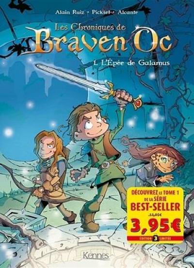 Couverture Braven Oc - offre découverte tome 1