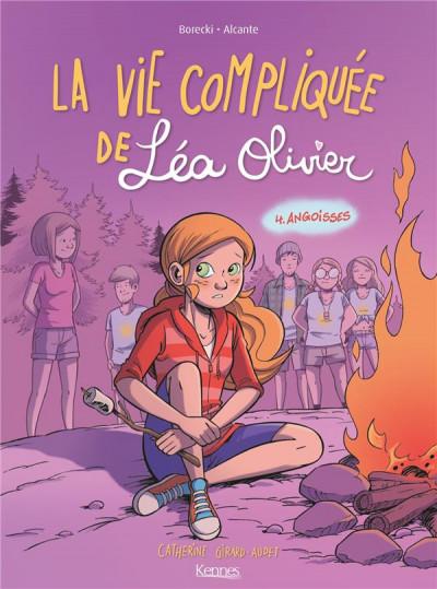 Couverture La vie compliquée de Léa Olivier tome 4