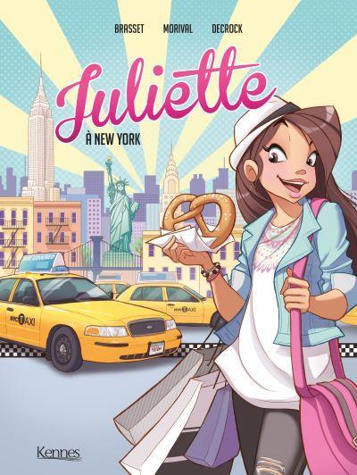 Couverture Juliette à New York