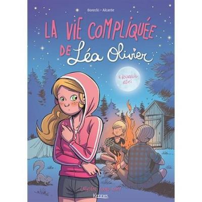 Couverture La vie compiqué de Léa Olivier tome 5