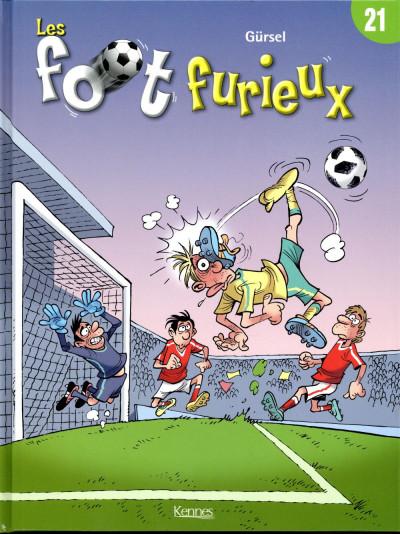 Couverture Les foot furieux tome 21