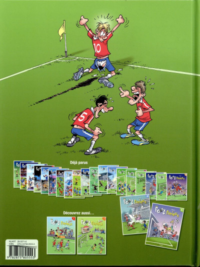Dos Les foot furieux tome 21