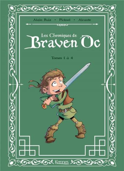 Couverture Braven oc -  intégrale tomes 1 a 4