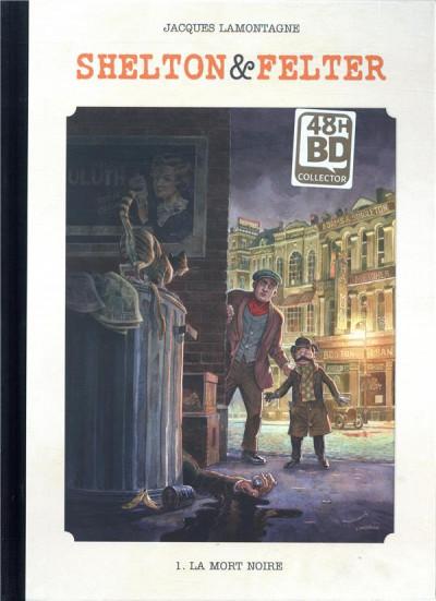 Couverture Shelton & Felter - édition luxe 48h BD tome 1