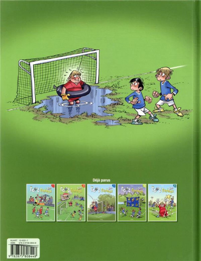 Dos Les foot furieux kids tome 5