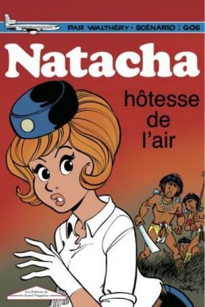 Couverture Tirage de luxe Natacha tome 1 - Hôtesse de l'air