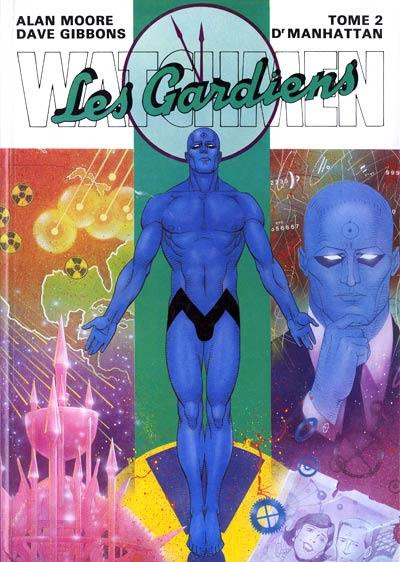 Couverture Watchmen (les gardiens) tome 2 - docteur Manhattan