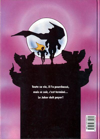 Dos Batman - Dark Knight tome 2 - La Traque (éd. 1989)