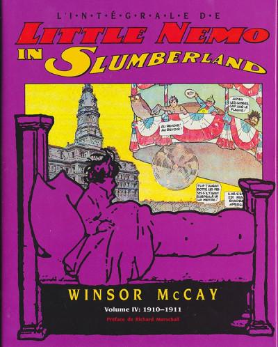Couverture Little Nemo in Slumberland tome 4 - 1910-1911