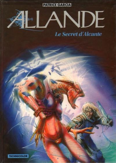 Couverture Allande tome 2 - le secret d'alcante