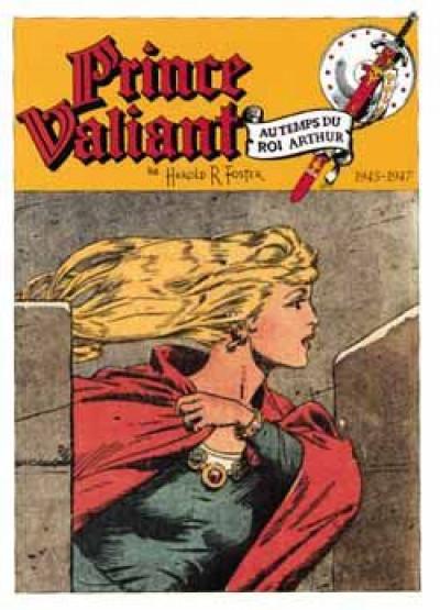 Couverture prince valiant tome 5 - 1945-1947 aleta