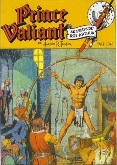 Couverture prince valiant tome 4 - 1943-1945 le prince de thule