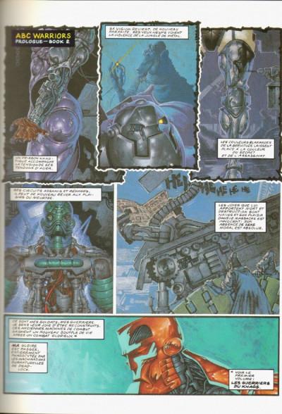 Page 1 ABC warriors (Zenda) tome 2 - la 7ème tête