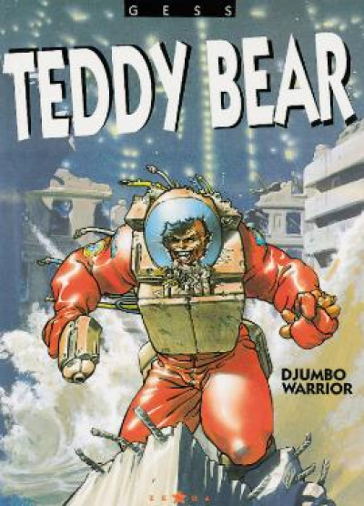 Couverture teddy bear tome 2 - djumbo warrior