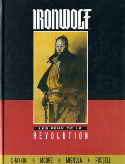 Couverture Ironwolf - feux de la révolution