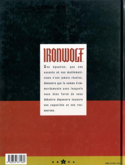 Dos Ironwolf - feux de la révolution