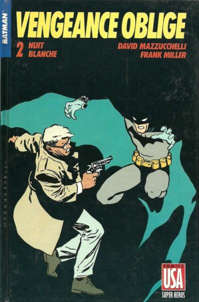 Couverture Batman vengeance oblige tome 2 - nuit blanche