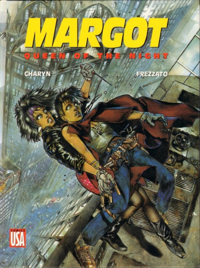 Couverture Margot tome 2 - Margot queen of the nigth